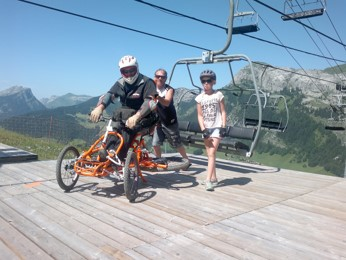 output chairlift Quadrix (picture)